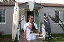 Title: Dunfee At Home Quiver Surfer: Dunfee, Derek Type: Portraits
