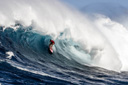 Title: Aaron Gold Barreled at Jaws Surfer: Gold, Aaron Type: Barrel