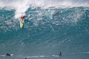 Title: Landon Big Pipe Drop Location: Hawaii Surfer: McNamara, Landon Type: Action
