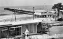 Title: Classic San Clemente Pier and Cafe Photo Of: stock Type: Classic Surf