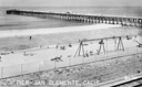 Title: Classic San Clemente Pier and Playground Photo Of: stock Type: Classic Surf
