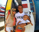 Title: Wardo and Family Surfer: Ward, Chris Type: Lifestyle