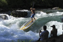 Title: Chuck SUP River Rapids Surfer: Patterson, Chuck Type: Stand Up Paddle
