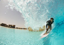 Title: Dion Wavepool Shack Surfer: Agius, Dion Type: Barrel