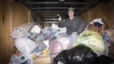 Title: Truck Full Of Donations Location: New York Photo Of: stock Type: Lifestyle