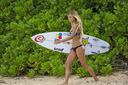 Title: Alana with Board Surfer: Blanchard, Alana Type: Portraits