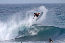 Title: Alex Frontside Grab Location: Hawaii Surfer: Ribiero, Alex Type: Action