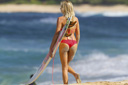 Title: Girl Carrying Surfboard Photo Of: stock Type: Bikini Girls