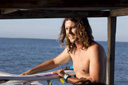 Title: Adam On Boat Surfer: Bennetts, Adam Type: Lifestyle