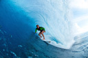 Title: Carissa Blue Tube Surfer: Moore, Carissa Type: Barrel