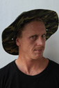 Title: Chippa Camo Hat Portrait Surfer: Wilson, Chippa Type: Portraits