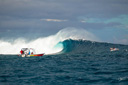 Title: Cloudbreak Landscape Location: Fiji Photo Of: stock Type: Big Waves