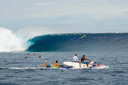 Title: Big Cloudbreak Location: Fiji Photo Of: stock Type: Big Waves