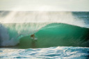 Title: Damien at Pipeline Surfer: Hobgood, Damien Type: Barrel