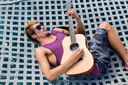 Title: Eric Playing Guitar Surfer: Geiselman, Eric Type: Lifestyle