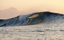 Title: Clean Left Bowl Location: Tonga Photo Of: stock Type: Empty Waves