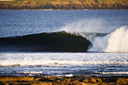 Title: Offshore Barrel Location: Scotland Photo Of: stock Type: Empty Waves