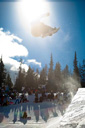 Title: Snowboard Jump Location: Colorado Photo Of: stock Type: Extreme Sports
