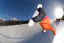 Title: Half-Pipe Action Location: Colorado Photo Of: stock Type: Extreme Sports