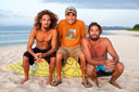 Title: Gerry with Rob and Rasta Surfer: Lopez, Gerry Type: Portraits