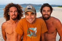 Title: Gerry, Rob and Rasta Surfer: Lopez, Gerry Type: Portraits
