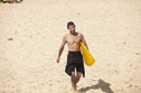 Title: Joel On the Sand Surfer: Tudor, Joel Type: Portraits