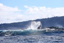 Title: Griffin Tail High Location: Tahiti Surfer: Colapinto, Griffin Type: Action