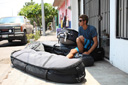 Title: Ian and Travel Gear Surfer: Gentil, Ian Type: Lifestyle