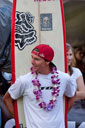 Title: Ian at the Eddie Surfer: Walsh, Ian Type: Portraits