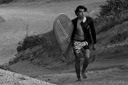 Title: Jared Black and White Portrait Surfer: Mell, Jared Type: Portraits