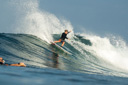 Title: John John Rail Turn Location: California Surfer: Florence, John John Type: Action