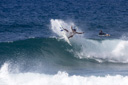 Title: Kaimana Throwing Fins Surfer: Jaquias, Kaimana Type: Action