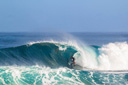Title: Kiron Backdoor Barrel Surfer: Jabour, Kiron Type: Barrel