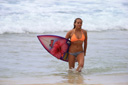 Title: Malia Ward Coming Out Of Water 2 Surfer: Ward, Malia Type: Portraits