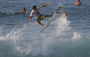 Title: Miguel No Grab Air Location: Hawaii Surfer: Pupo, Miguel Type: Action