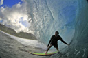 Title: Mikey Under the Lip Surfer: Bruneau, Mikey Type: Barrel
