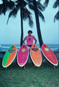 Title: MR with Boards Surfer: Richards, Mark Type: Legends