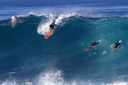 Title: Nathan Dropping In At Pipeline Surfer: Fletcher, Nathan Type: Action