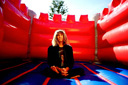 Title: Ozzie Bounce House Lifestyle Surfer: Wright, Ozzie Type: Portraits