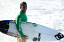 Title: Patrick with Board Surfer: Bevan, Patrick Type: Portraits