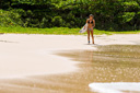 Title: Quincy Walking Up Beach Location: Caribbean Surfer: Davis, Quincy Type: Action