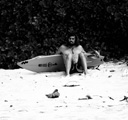 Title: Dave Rastovich Hanging on Beach Surfer: Rastovich, Dave Type: Portraits