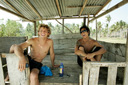 Title: Rizal with Yadin Surfer: Tanjung, Rizal Type: Portraits