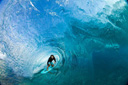 Title: Machado Blue Barrel Surfer: Machado, Rob Type: Barrel