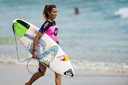Title: Sally Running Out For Heat Surfer: Fitzgibbons, Sally Type: Portraits