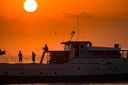 Title: Indo Boat Sunset Photo Of: stock Type: Sunsets