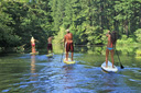 Title: Oregon River SUP Location: Oregon Photo Of: stock Type: Stand Up Paddle