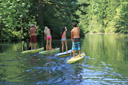Title: Oregon Stand Up Paddle Group Location: Oregon Photo Of: stock Type: Stand Up Paddle