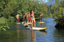 Title: Oregon Group River Paddle Photo Of: stock Type: Stand Up Paddle