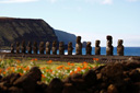 Title: Easter Island Statues Photo Of: stock Type: Tourism